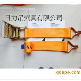 日力 供应汽车捆绑带 拉紧器 捆绑带 75mm 有钩
