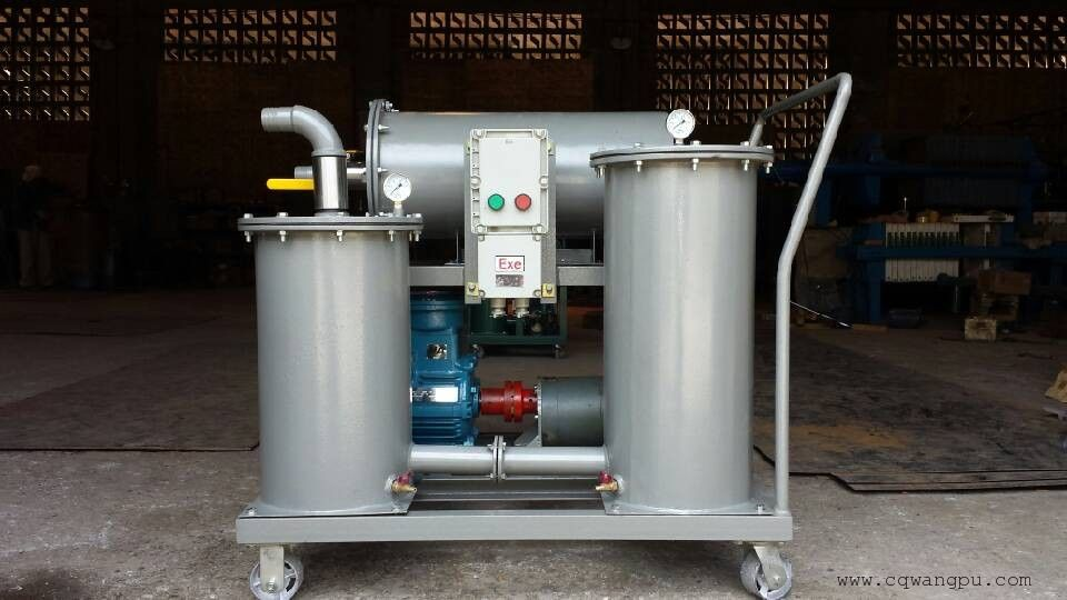 (三级过滤)YL-B-100F电器防爆型轻便式油过滤机