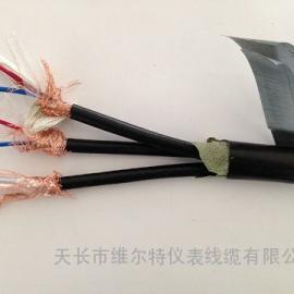 阻燃铠装三合一视频组合电缆