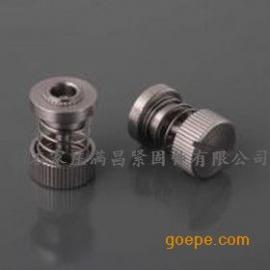 沧州松不脱螺钉-PF10不锈钢手拧螺钉-不锈钢不脱出螺钉
