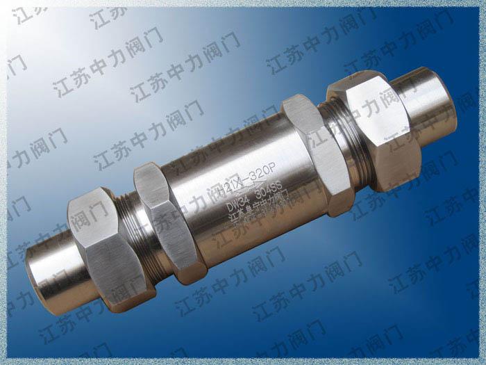DH61Y-420P高压低温止回阀