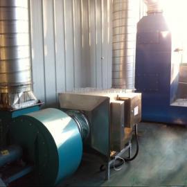 幕墙喷漆烤漆废气处理工程|油漆废气水洗塔