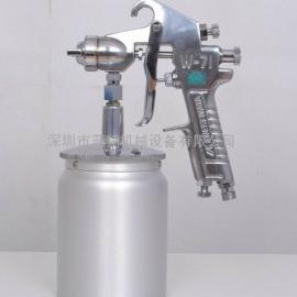 原装日本岩田W-71手动喷漆枪 油漆喷枪