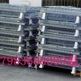 厂家供应仓储物流笼/仓库五金件-周转笼可折叠铁笼