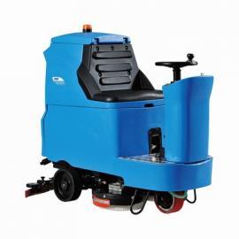 商场车间电子厂地面清理用驾驶室洗地机 拖地机容恩R-QQ