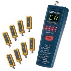 泰仕网络缆线测试器TES-45A