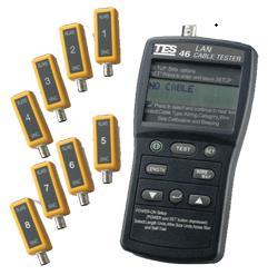 泰仕网路缆线测试器TES-46A
