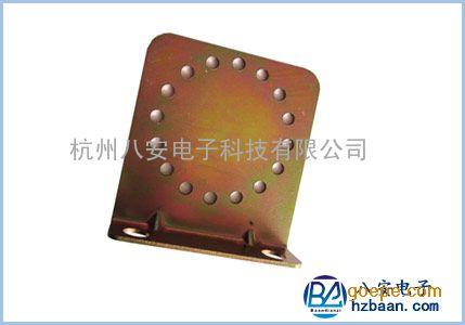 全国供应八安电子围栏终端杆底座 BA801脉冲电子围栏配件