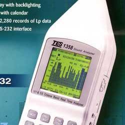 泰仕噪音计声级计即时音频分析仪TES1358