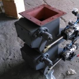 气动双层卸灰阀QSXF-II