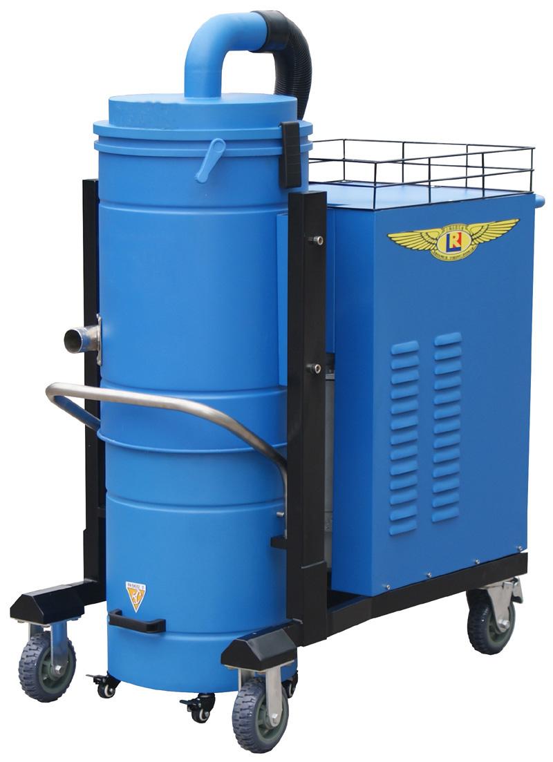 重工型三相电工业吸尘器|凯德威工业吸尘器DL-5510