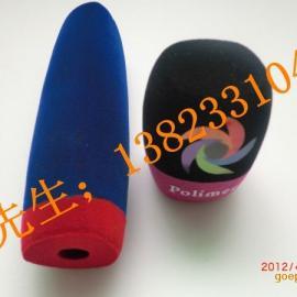 直径200MM超大话筒套供应商|印台标话筒套价格
