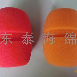 彩色话筒供应厂家/印台标话筒套制造公司