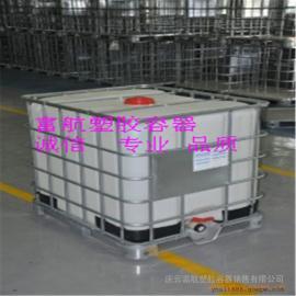 方形带阀门1立方塑料桶