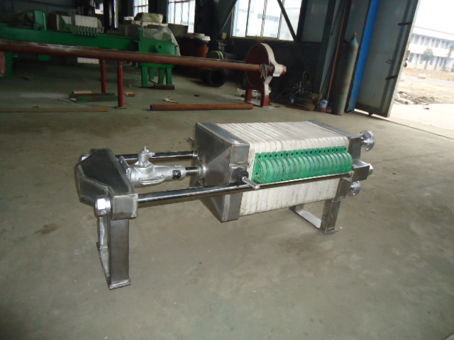 【明华牌】不锈钢小型压滤机