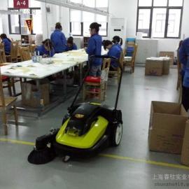 扫树叶吸尘清扫车,四川工厂用清扫车,开天手推式清扫车视频