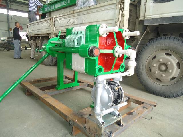 污水处理工程设备--【明华】系列压滤机