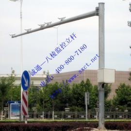 诚通CT-6500热镀锌加喷塑八棱监控立杆|交通信号灯杆|路灯杆