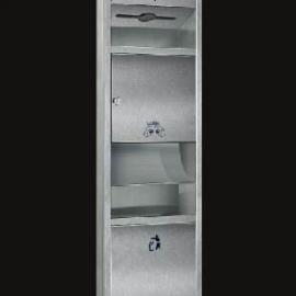 带干手器带垃圾桶大擦手纸架、带烘手器带垃圾桶擦手纸盒