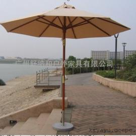 三亚别墅木制太阳伞供应