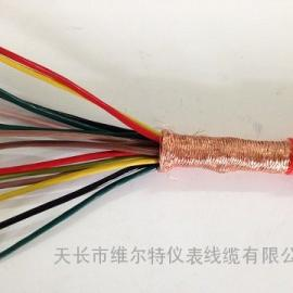ZR-KFGP-10*1.0 硅橡胶屏蔽电缆