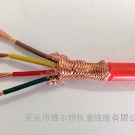 ZR-KFGP-4*1.0 硅橡胶屏蔽电缆