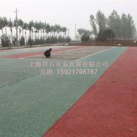 供应彩色透水地坪-透水混凝土-透水路面,直销内蒙古福建江西