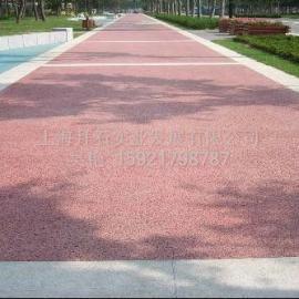 江苏(浙江)彩色透水混凝土地坪的做法/价格/材料/施工工艺