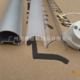 供应LED日光灯管配件 T8椭圆型铝塑管厂家