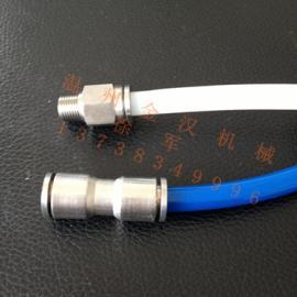 不锈钢气源软管快速接头