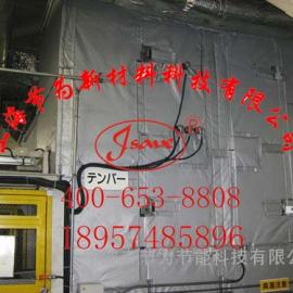 嘉兴排气阀保温套,柔性保温衣,可拆卸式柔性保温被