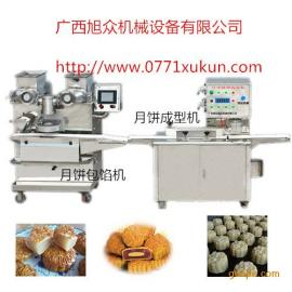 广西专业生糍粑摆盘机,广西自动月饼包馅机