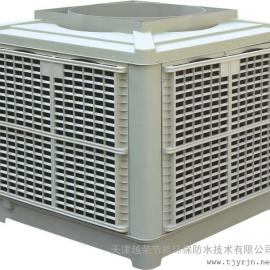 杭州道车间通风降温方案-向阳湿帘水冷空调-双环村水帘冷风机