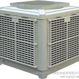 寨上车间通风降温方案-渤海石油湿帘水冷空调-汉沽水帘冷风机