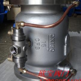 LHS743X-Q/P不锈钢低阻力倒流防止器