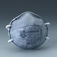 8247 R95有机蒸气异味及颗粒物防护口罩