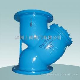 碳钢Y型法兰过滤器‖铸钢Y型管道过滤器‖GL41H-16C