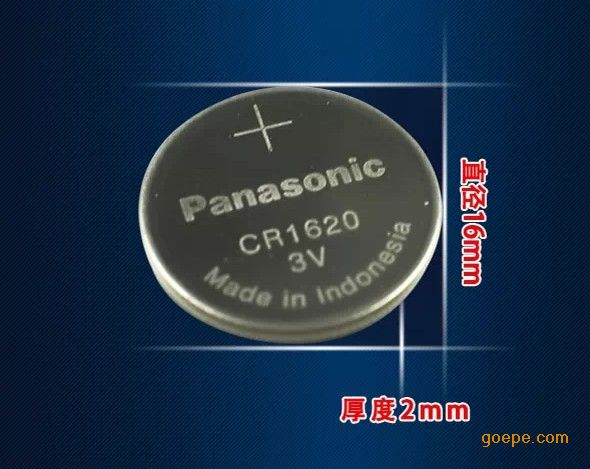 松下cr1620纽扣电池 3v锂电池-苏州利索捷电子有限图片