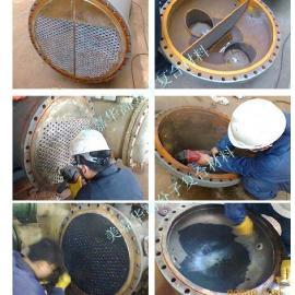 列管式换热器管板防腐保护材料