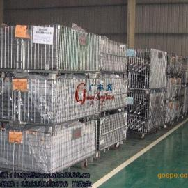 折叠式仓储笼厂家 储物笼 物料零件笼子