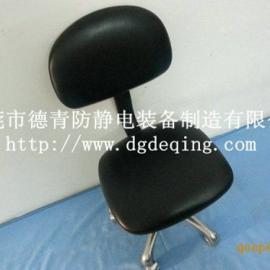 防静电【PU靠背皮革椅】,塘厦、清远防静电靠背皮革升降椅