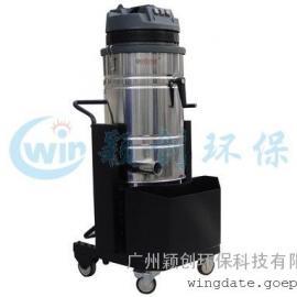 厂家热销不锈钢桶工业吸尘器A3000S单相三马达工业吸尘器