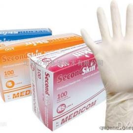 【麦迪康】Second Skin 一次性乳胶检查手套 轻柔型 1205