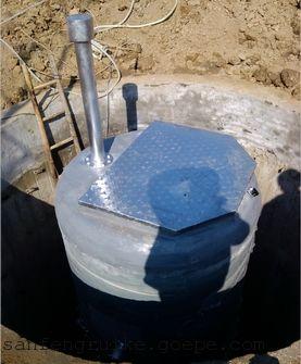 山东菏建建筑集团有限公司预制污水泵站-青岛三丰瑞克