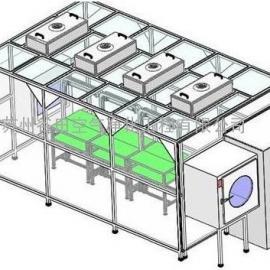 洁净棚    不锈钢 、铁方通烤漆 、铝型材、苏州谷田空气净化