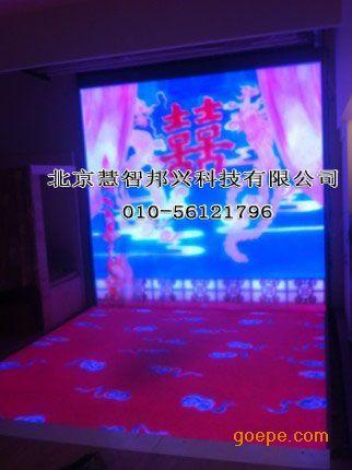 婚礼喜宴大厅led彩色大屏幕p7.62婚庆背景