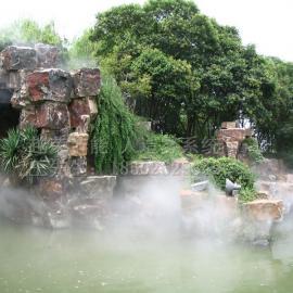 广场人造雾系统,天津除尘加湿方案,露天餐厅雾森降温设备