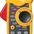 香港CEM品牌 1000A双铸塑交流钳形表 DT-3340