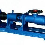 螺杆泵供应G型立式不锈钢单螺杆泵 不锈钢螺杆泵 小型螺杆泵