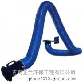 焊接烟尘净化器配套吸气臂 万向排烟臂安装 吸气臂安装视频